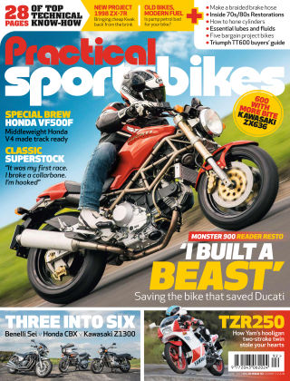 Practical Sportsbikes Jun 2018