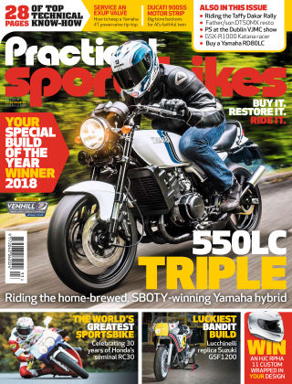 Practical Sportsbikes Jul 2018