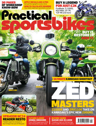 Practical Sportsbikes Aug 2018