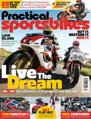 Practical Sportsbikes Nov 2018