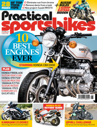 Practical Sportsbikes Dec 2018