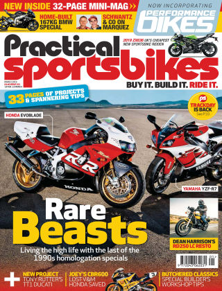 Practical Sportsbikes Mar 2019