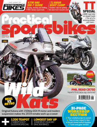 Practical Sportsbikes Aug 2019