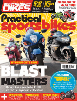 Practical Sportsbikes Sep 2019