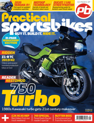 Practical Sportsbikes Nov 2019