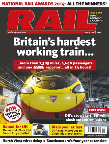 Rail October 01, 2014 00:00