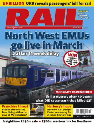 Rail 17th March 2015