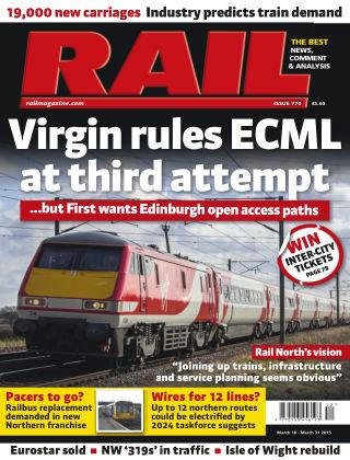 Rail 31st March 2015