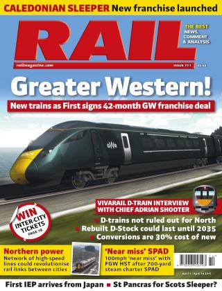 Rail 14th April 2015