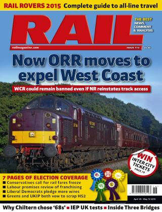 Rail 12th May 2015