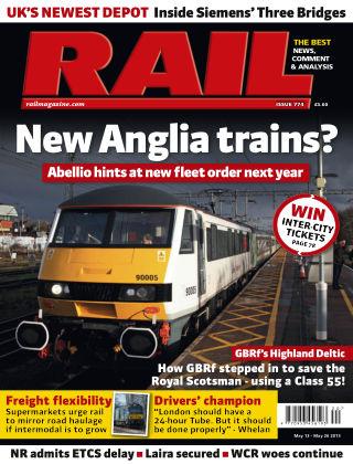 Rail 26th May 2015