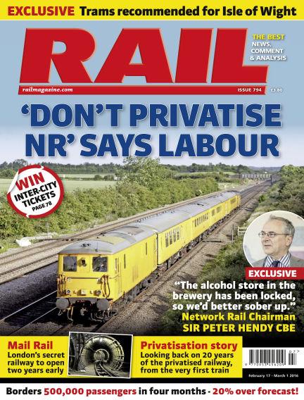 Rail February 17, 2016 00:00