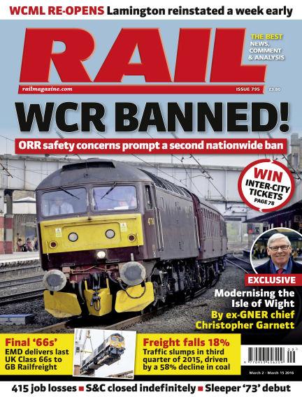 Rail March 02, 2016 00:00