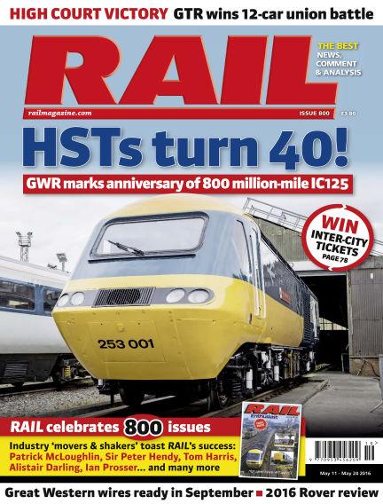 Rail May 11, 2016 00:00