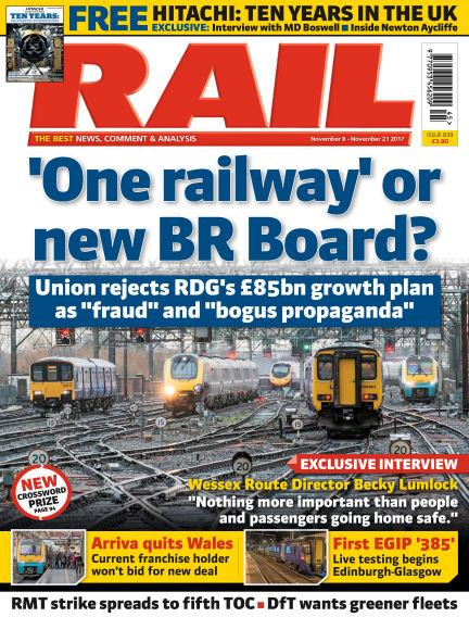 Rail November 08, 2017 00:00