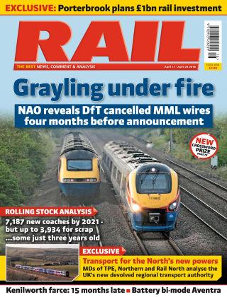 Rail Issue 850