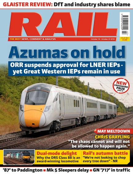 Rail October 06, 2018 00:00