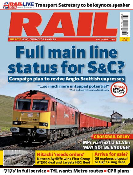 Rail April 06, 2019 00:00