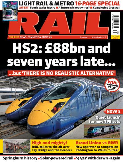 Rail September 07, 2019 00:00