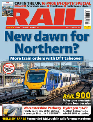 Rail Issue 900