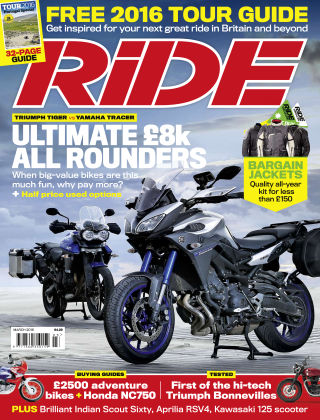 RiDE March 2016
