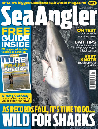 Sea Angler Aug - Sep 2016
