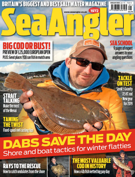 Sea Angler January 10, 2019 00:00