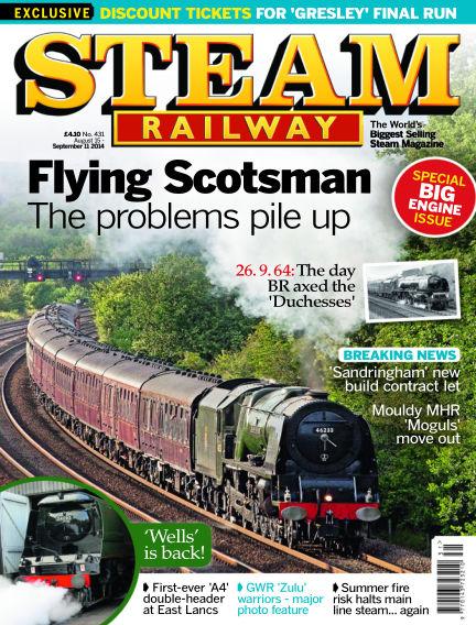 Steam Railway August 15, 2014 00:00