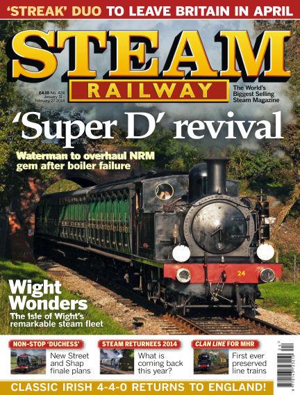 Steam Railway January 31, 2014 00:00