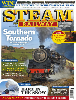 Steam Railway February 2015