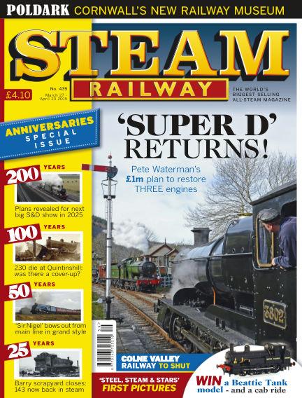 Steam Railway March 27, 2015 00:00