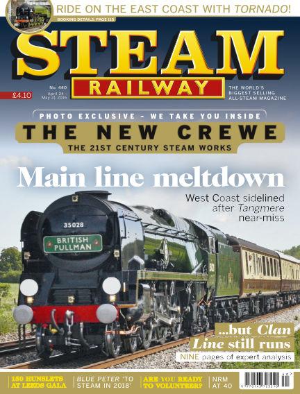 Steam Railway April 24, 2015 00:00