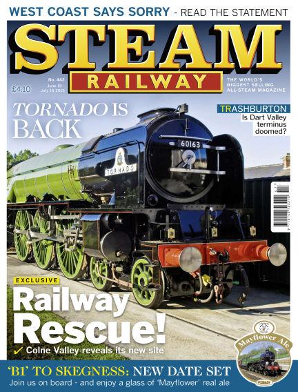 Steam Railway June 19, 2015 00:00