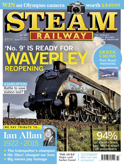 Steam Railway July 17, 2015 00:00