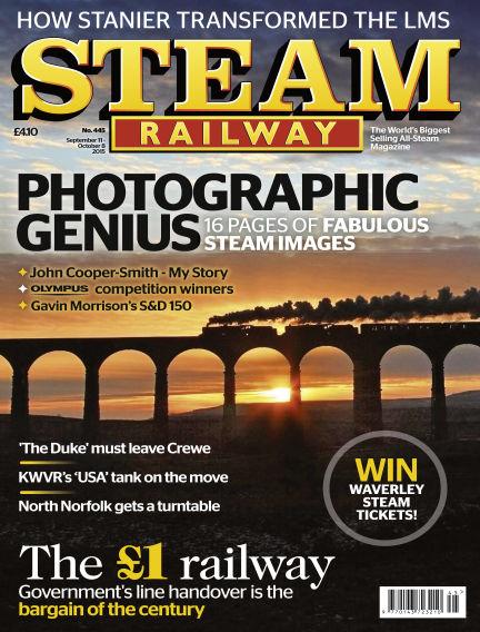Steam Railway September 11, 2015 00:00