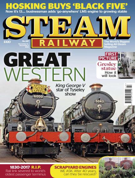Steam Railway November 06, 2015 00:00