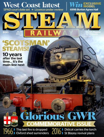 Steam Railway January 05, 2016 00:00