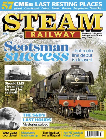 Steam Railway January 29, 2016 00:00