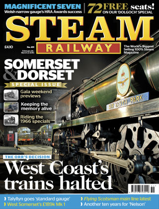 Steam Railway Feb - Mar 2016