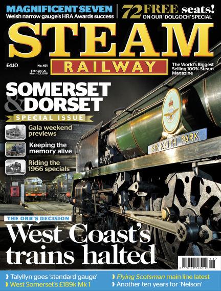 Steam Railway February 26, 2016 00:00