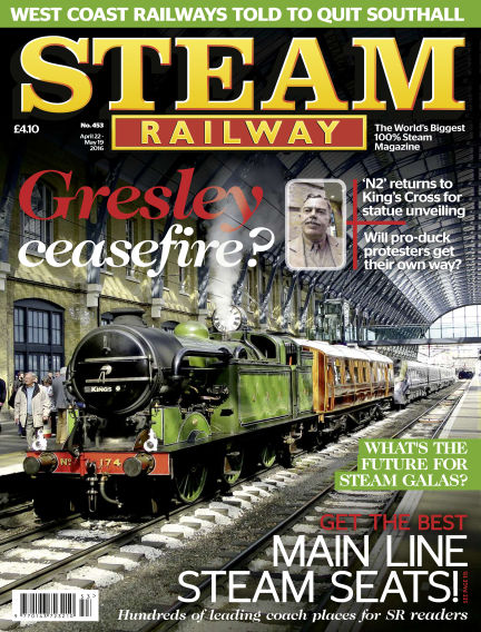 Steam Railway April 22, 2016 00:00