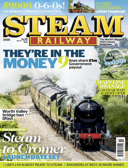 Steam Railway June 17, 2016 00:00