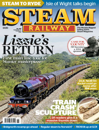 Steam Railway Sep - Oct 2016