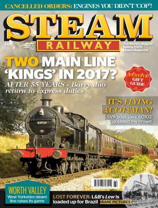 Steam Railway Nov - Dec 2016