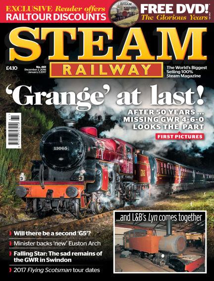 Steam Railway December 02, 2016 00:00