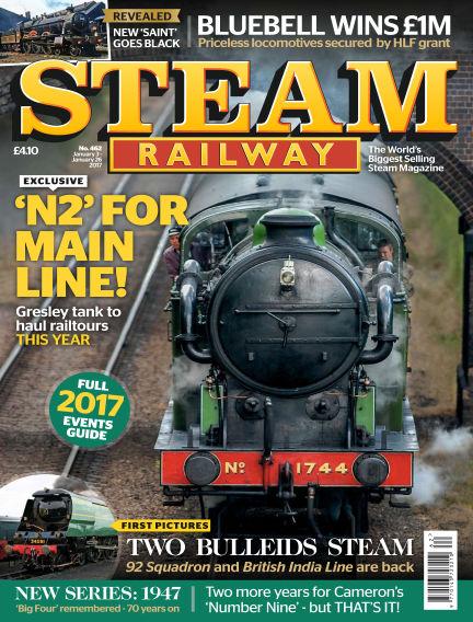 Steam Railway January 03, 2017 00:00