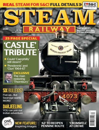 Steam Railway Jan - Feb 2017