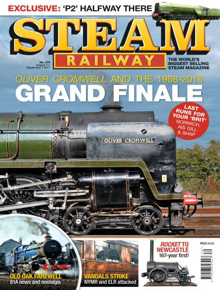Steam Railway August 11, 2017 00:00