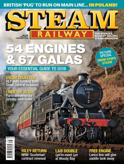 Steam Railway January 05, 2018 00:00