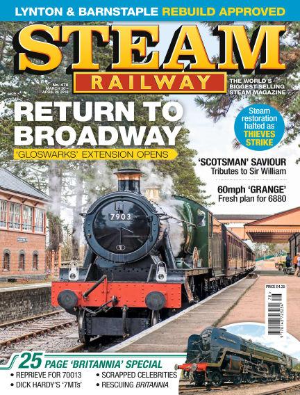 Steam Railway March 30, 2018 00:00